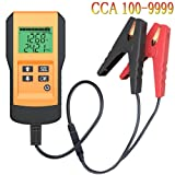 Battery Tester for Automotive Digital 12V Car Battery Load Test and Analyzer with Digital Readout (Digital battery tester) (Color: Digital battery tester)