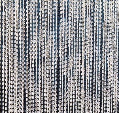t rvorhang perlen t rvorhang sparkling beads wei. Black Bedroom Furniture Sets. Home Design Ideas