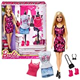 """Mattel Year 2013 Barbie """"Life In The Dreamhouse"""" Series 12 Inch Doll Set - BARBIE (CDM10) With Tank"""