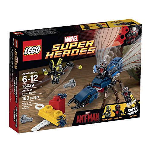 New LEGO Superheroes Marvels Ant Man Building