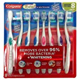 Colgate Total Whitening Toothbrush - Medium - 8 pk.