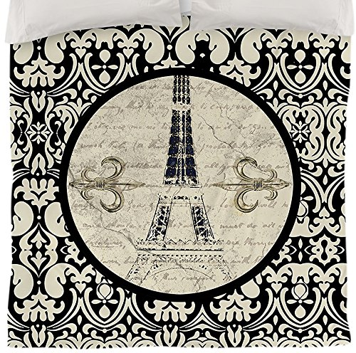 Eiffel Tower Bedding Twin 2273 front