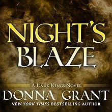 Night's Blaze: Dark Kings, Book 5 (       UNABRIDGED) by Donna Grant Narrated by Antony Ferguson