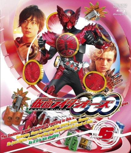 仮面ライダーOOO(オーズ)VOL.6【Blu-ray】