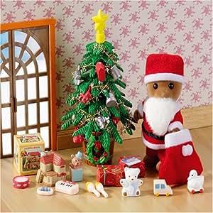 Sylvanian families father christmas amazon co uk toys amp games