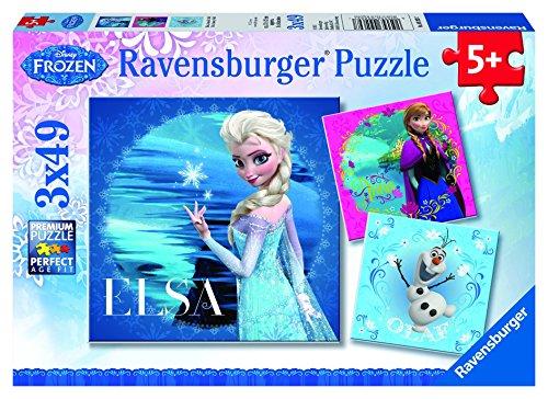 Disney Frozen Elsa Puzzle 3x49 - 1