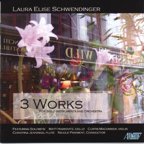Buy Laura Schwendinger: 3 Works for Solo Instruments & Orchestra From amazon