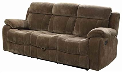 Motion Sofa With Tufted Back