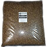 11 Lbs Tasty Worms Bulk Freeze Dried Mealworms Approx. 176,000ct