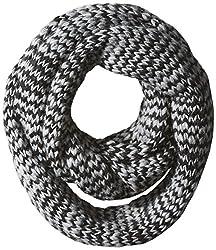 John Varvatos Star U.S.A Men's Birdseye Stitch Infinity, Black, One Size