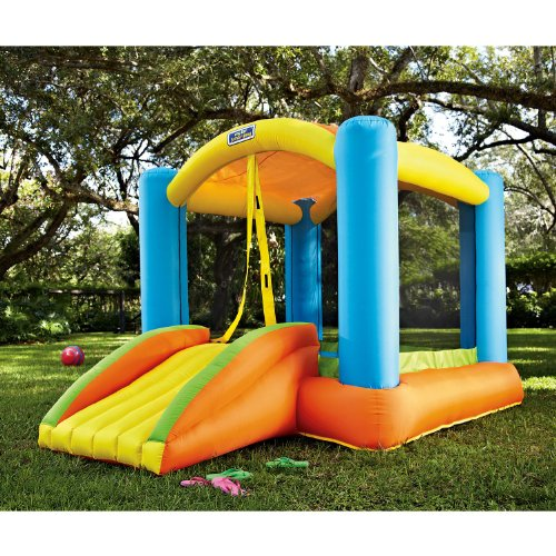 Jump N Play Bouncer Super Slide Moonwalk Bounce House Inflatable Jumper