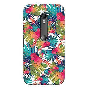 ColourCrust Motorola Moto G3 Mobile Phone Back Cover With Colourful Abstract Art - Durable Matte Finish Hard Plastic Slim Case