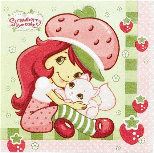 Imagen de Strawberry Shortcake Almuerzo Servilletas - 16 Count