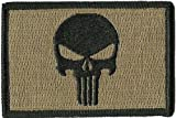Punisher Tactical Patch - Coyote Tan