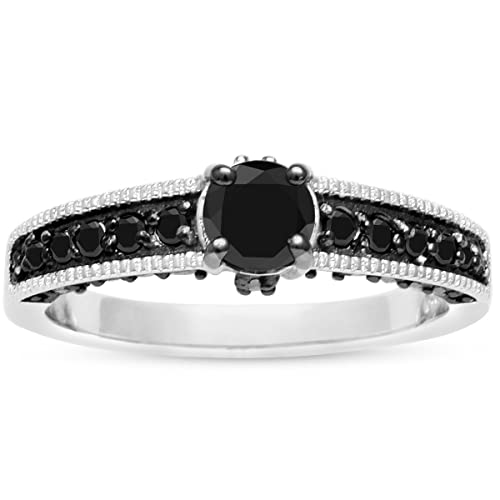 After-Christmas-Special-Price-1ct-Black-Diamond-Pave-Engagement-Ring-Crafted-In-Solid-Sterling-Silver