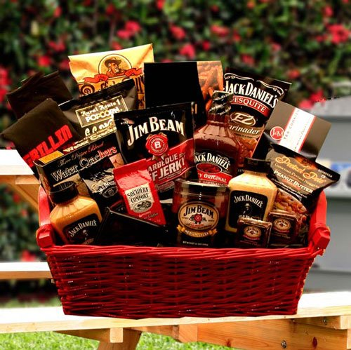 Jim and Jack Together At Last Grillin Gift Basket