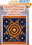 Traditional Patchwork Quilt Designs (Dover Design Coloring Books)