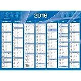 QUO VADIS - 1 Calendrier de banque bleu - 2016 - 430x335mm