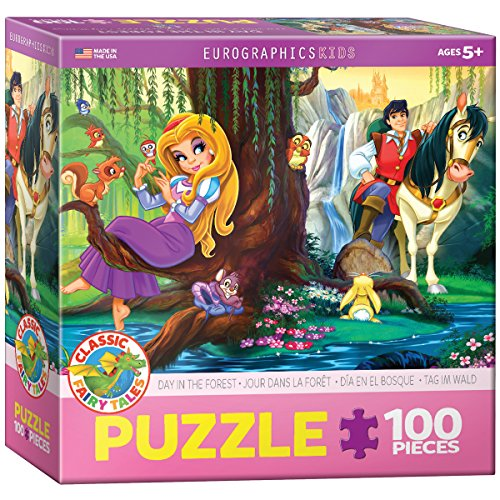 EuroGraphics Day in the Forest Jigsaw Puzzle (100-Piece)