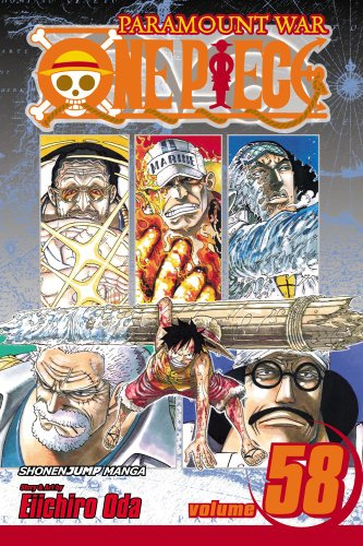 ONE PIECE ワンピース コミック58巻 (英語版)