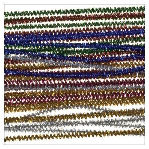 i-mondir-40-stueck-chenilledraht-glitter-bunt-sortiert-30cmx3mm