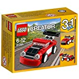 #5: Lego Red Racer, Multi Color