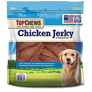 Top Chews Chicken Jerky Natural Dog Treats 3 lb
