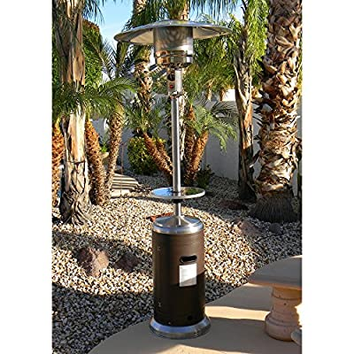 AZ Patio Heaters HLDS01-WCGT Tall Patio Heater with Table