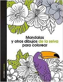 dibujos de la selva para colorear: 9788408139669: Amazon.com: Books