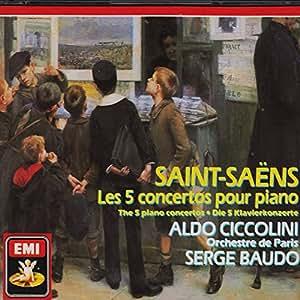 Saint Saëns : Les 5 concertos pour piano