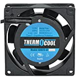 Thermocool Fans G8025HAS Fan, 120 VAC, 23 CFM, 12