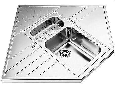 Blanco Axis 9 E-M Einbauspule Edelstahl Spultisch Kuchen-Spule Auflagebecken