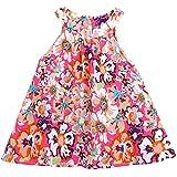 ZANZEA Kid Girls Summer Casual Printed Floral Dress