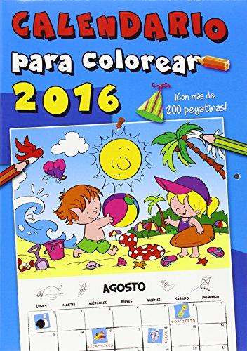 Calendario 2016. Para Colorear
