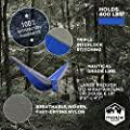Camping Hammock by Moxie Outfitters - Best Quality Hammock Available - Lightweight & Portable Hammock | Heavy Duty - Holds 400 lbs | Hammock For Backpacking, Hiking, Traveling & More!