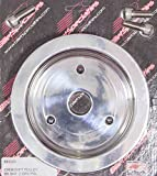 Billet Specialties 83220 Polished BBC 2 Groove Lower Pulley