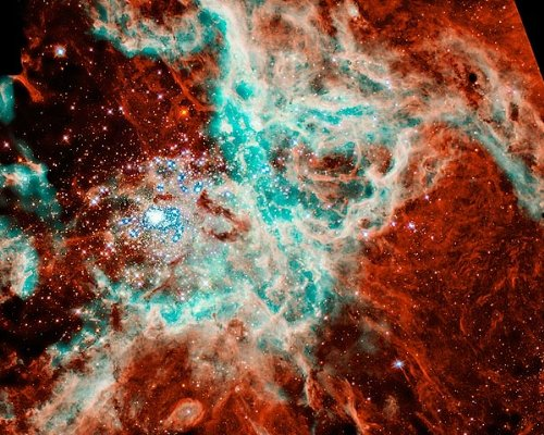 Hubble Space Telescope 30 Doradus Nebula 11X14 Silver Halide Photo Print