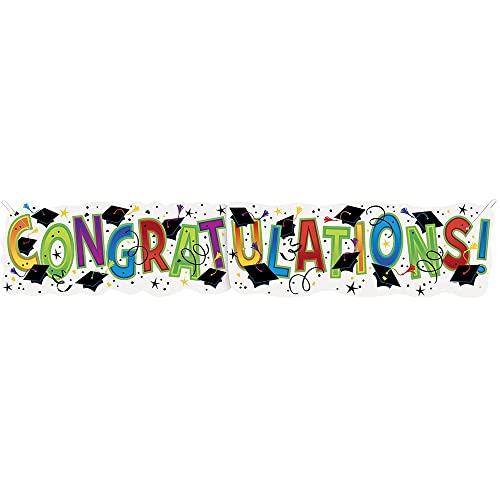 Giant Congratulations Graduation Banner