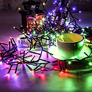 kalokelvin Solar String Lights Waterproof Outdoor 300 LED 38FT 8-in-1 Mode for Home Holiday Decoration-Multicolor