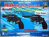 ガスガン 組立キット S&W M36 8mmBB 3インチ HW Xカートリッジ仕様 (18歳以上推奨)