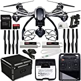YUNEEC-Q500-4K-Typhoon-Quadcopter-with-CGO3-GB-Camera-RTF-Manufacturer-Accessories-Extra-YUNEEC-Battery-YUNEEC-Hardshell-Case-Set-of-4-Quick-Release-Snap-OnOff-Prop-Guards-MORE