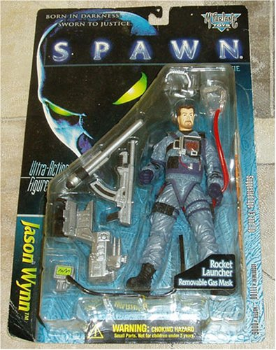Spawn The Movie: Jason Wynn with Rocket Launcher and Removable Gas Mask