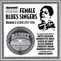 Female Blues Singers Vol.5 C/