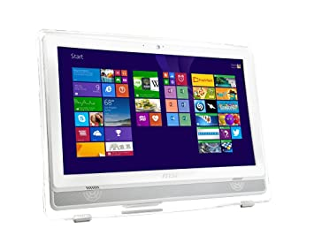 "MSI AE222-275EU Ordinateur de bureau Tout-en-Un Non tactile 21""(53,34 cm) Blanc (Intel Core i3, 4 Go de RAM, 1 To, Intel HD Graphics, Windows 10)"