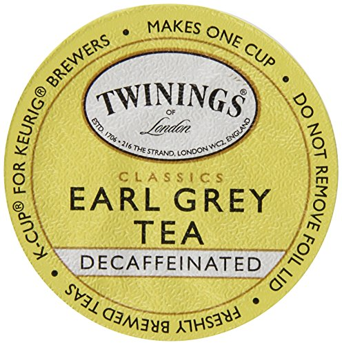 Twinings Earl Grey Decaf Tea K-Cup, 24 Count (Earl Grey Decaf Tea Keurig compare prices)