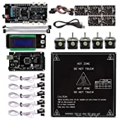 SainSmart Ultimaker 1.5.7 + A4988 + Mega2560 R3 + LCD2004 3D Printer Controller Kit for RepRap Arduino