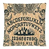 The Ouija Board Or Spirit Board Anime Pillowcase Custom Personalized Home Decoration Bolster Cushion 18X18 Inch 2 Sides For Room