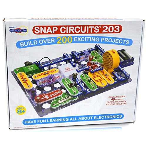 Snap Circuits 203 Electronics Discovery Kit - Amazon Exclusive (Electronic Maker compare prices)