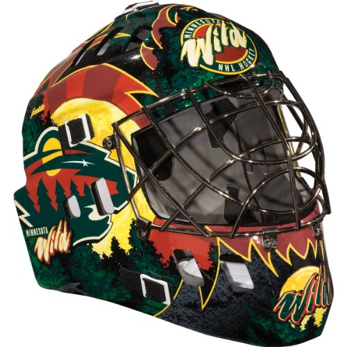 Discount Franklin Minnesota Wild Street Hockey Goalie Mask