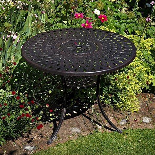 Mia 90cm rundes Tischset - 1 Mia Tisch + 2 Rose Stühle